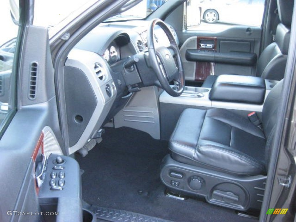 2008 ford f150 lariat supercrew 4x4 front seat photo. Black Bedroom Furniture Sets. Home Design Ideas