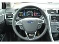 Charcoal Black Steering Wheel Photo for 2013 Ford Fusion #75601181