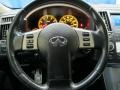 2006 Infiniti FX Graphite Interior Steering Wheel Photo