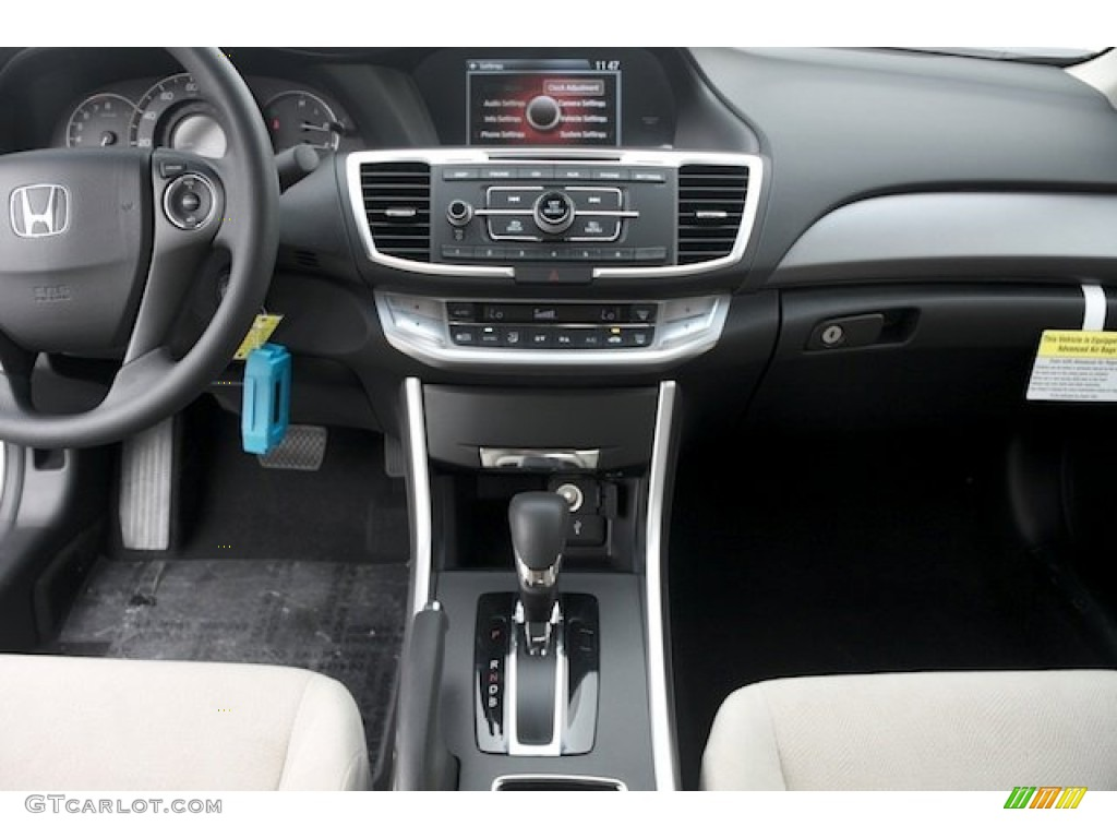 2013 Honda Accord Lx S Coupe Black Ivory Dashboard Photo