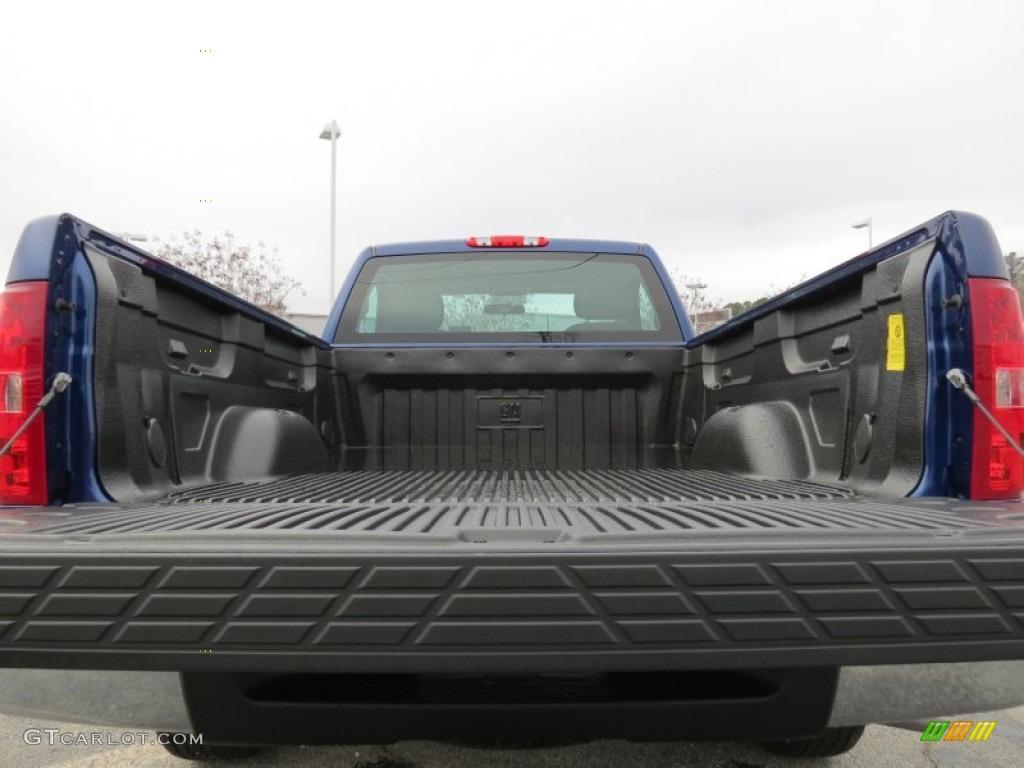 2013 Silverado 1500 LS Regular Cab - Blue Topaz Metallic / Dark Titanium photo #12
