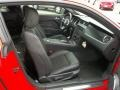 2013 Ford Mustang California Special Charcoal Black/Miko-suede Inserts Interior Interior Photo