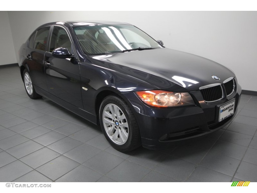 2007 monaco blue metallic bmw 3 series 328i sedan. Black Bedroom Furniture Sets. Home Design Ideas