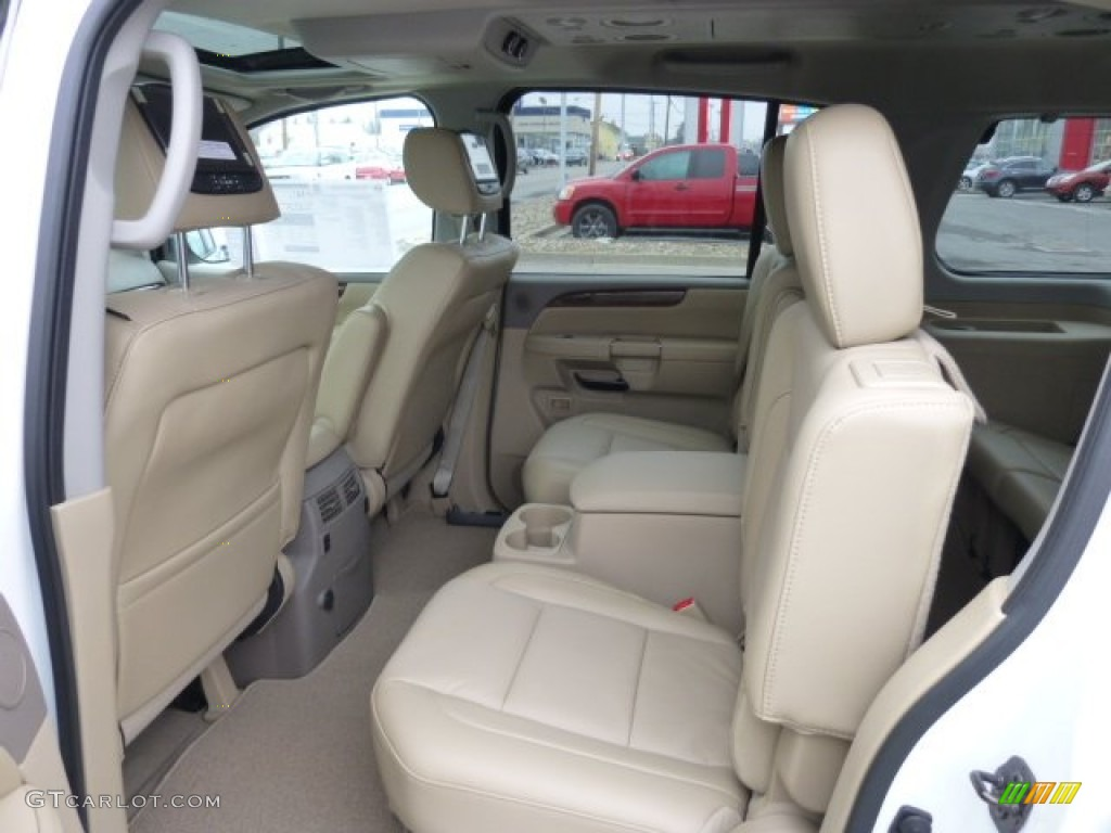 2013 midnight garnet nissan armada platinum 4wd 75612357 - 2015 nissan armada platinum interior ...