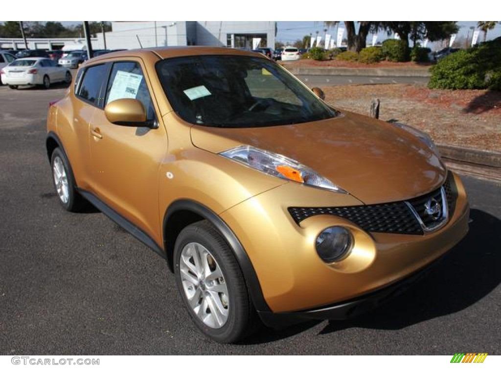 2013 Atomic Gold Nissan Juke Sv 75611347 Gtcarlot Com