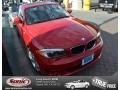 Crimson Red 2012 BMW 1 Series 128i Coupe