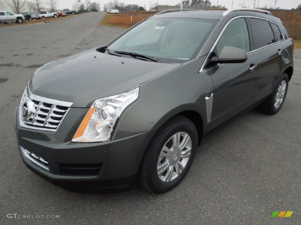2013 Evolution Green Metallic Cadillac Srx Luxury Fwd 75612331 Car Color Galleries