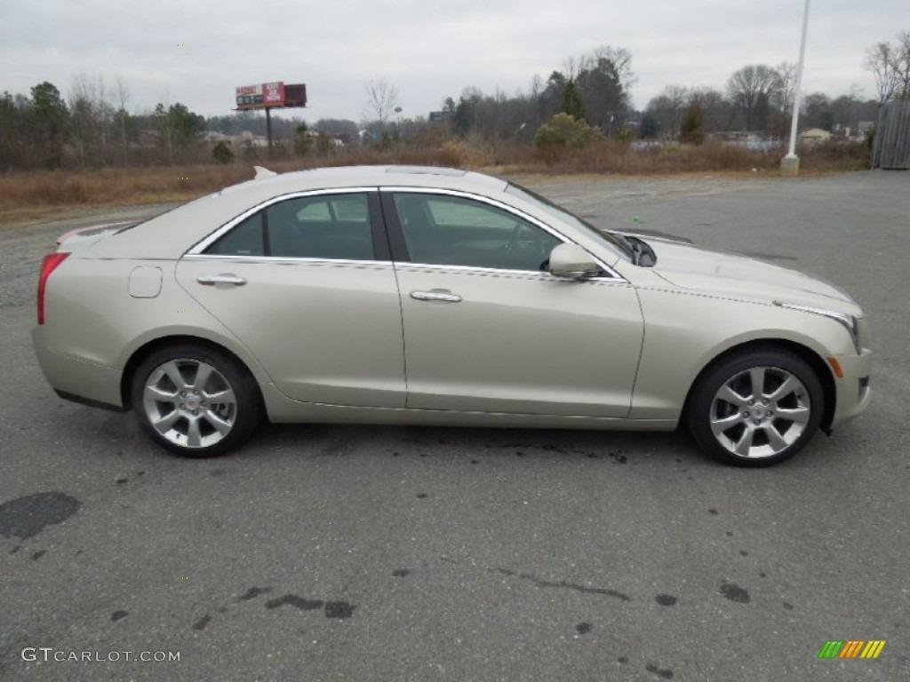 Silver Coast Metallic 2013 Cadillac Ats 3 6l Luxury Exterior Photo 75650880