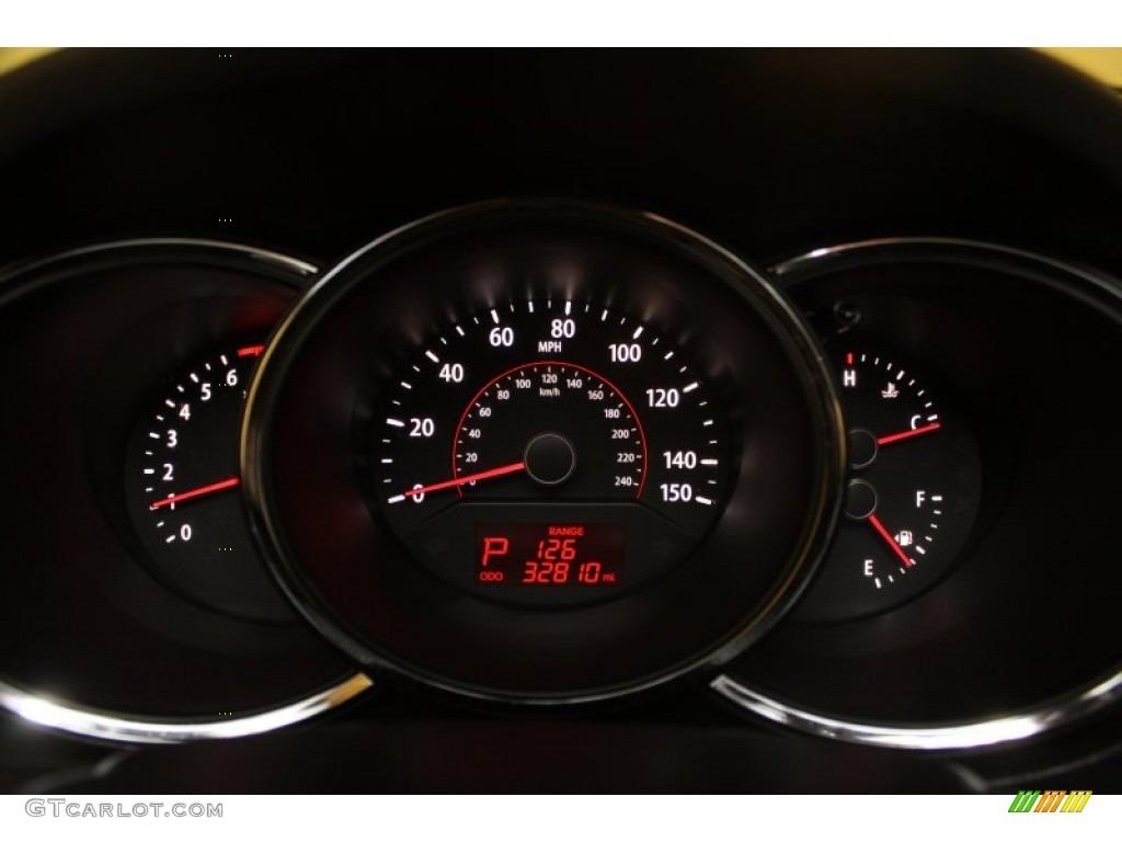 2011 Sorento LX - Spicy Red / Gray photo #7