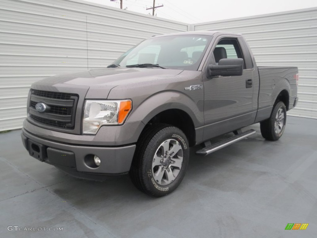 2000 Ford F150 Lariat Sterling Gray Metallic 2013 Ford F150 STX Regular Cab ...