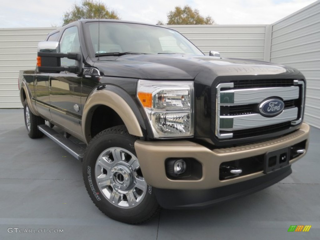 2013 Tuxedo Black Metallic Ford F250 Super Duty King Ranch Crew Cab 4x4 75612053