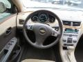 Cocoa/Cashmere Beige Steering Wheel Photo for 2008 Chevrolet Malibu #75666150