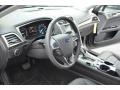 Charcoal Black Steering Wheel Photo for 2013 Ford Fusion #75673375