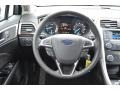 Charcoal Black Steering Wheel Photo for 2013 Ford Fusion #75673593
