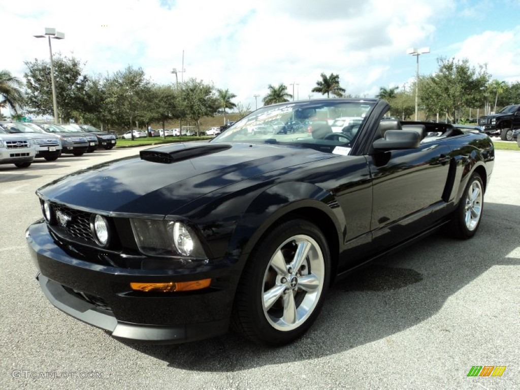 2009 ford mustang gt cs california special convertible exterior photos. Black Bedroom Furniture Sets. Home Design Ideas