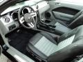 2009 Ford Mustang Black/Dove Interior Prime Interior Photo