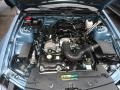 2007 Windveil Blue Metallic Ford Mustang V6 Deluxe Convertible  photo #14