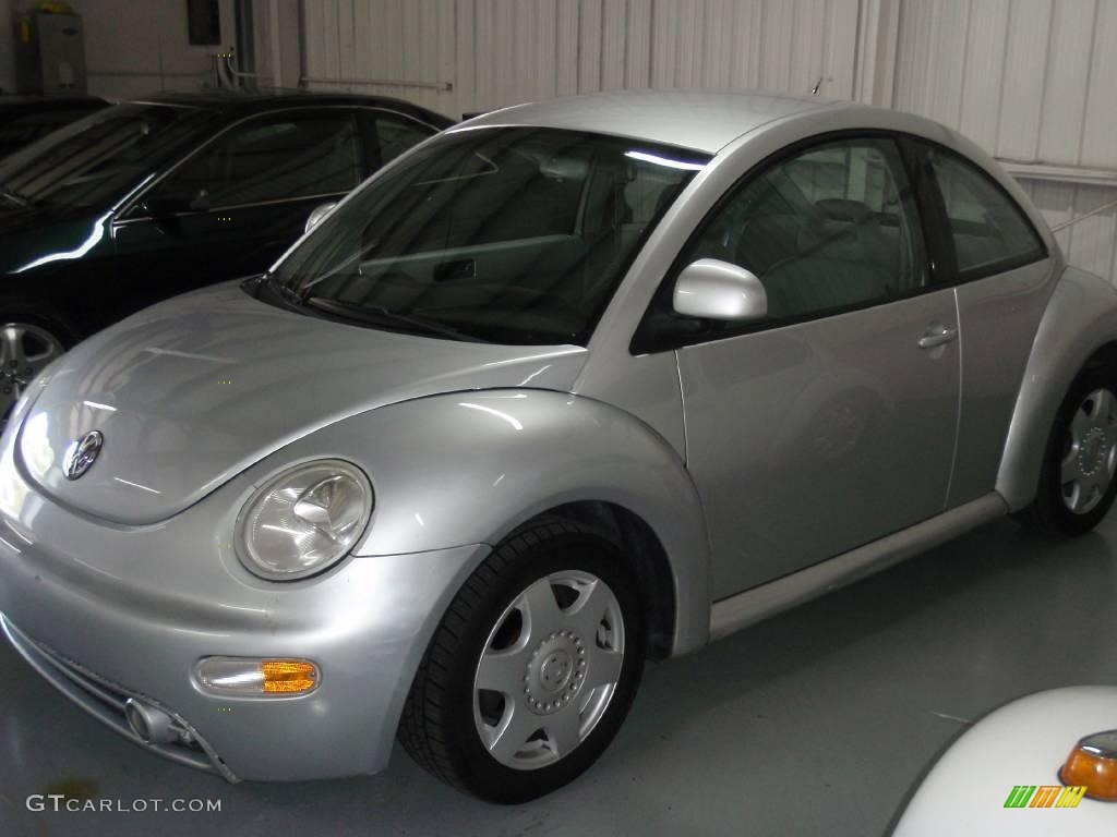 1998 silver arrow metallic volkswagen new beetle 2 0 coupe 7566821 car color. Black Bedroom Furniture Sets. Home Design Ideas