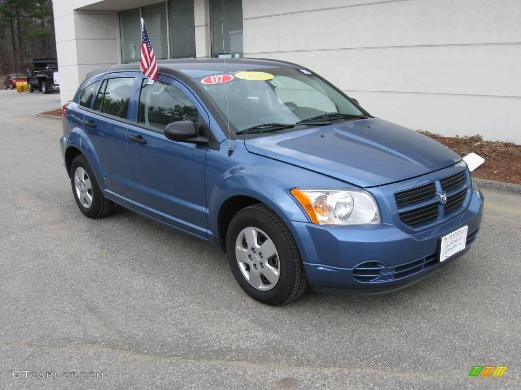 2007 marine blue pearl dodge caliber se 7565191 car color galleries. Black Bedroom Furniture Sets. Home Design Ideas