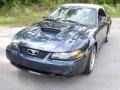 2003 True Blue Metallic Ford Mustang GT Convertible  photo #14