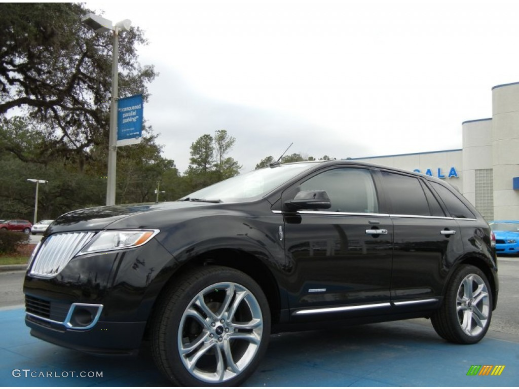 2013 tuxedo black lincoln mkx fwd 75669439 car color galleries. Black Bedroom Furniture Sets. Home Design Ideas