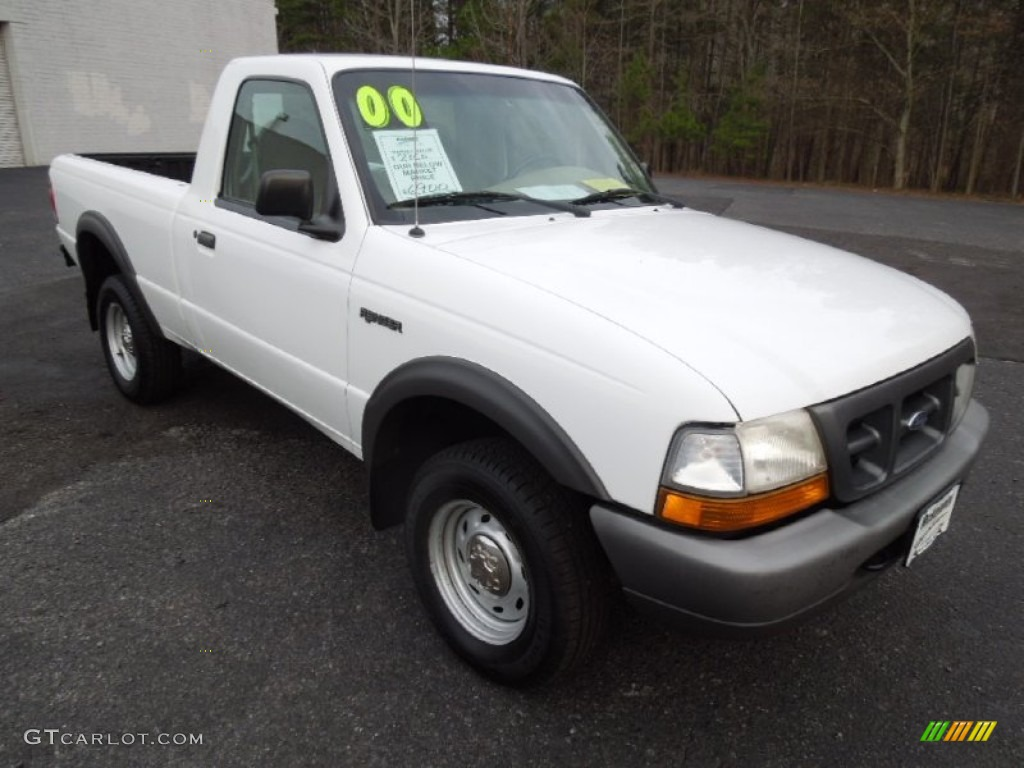 oxford white 2000 ford ranger xl regular cab 4x4 exterior photo 75718080 gtcarlot
