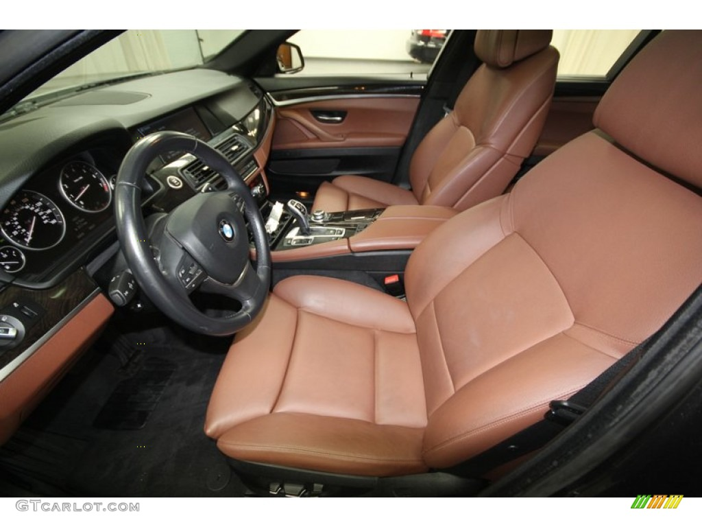 Cinnamon Brown Interior 2011 Bmw 5 Series 535i Sedan Photo 75723018