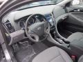Gray 2013 Hyundai Sonata Interiors