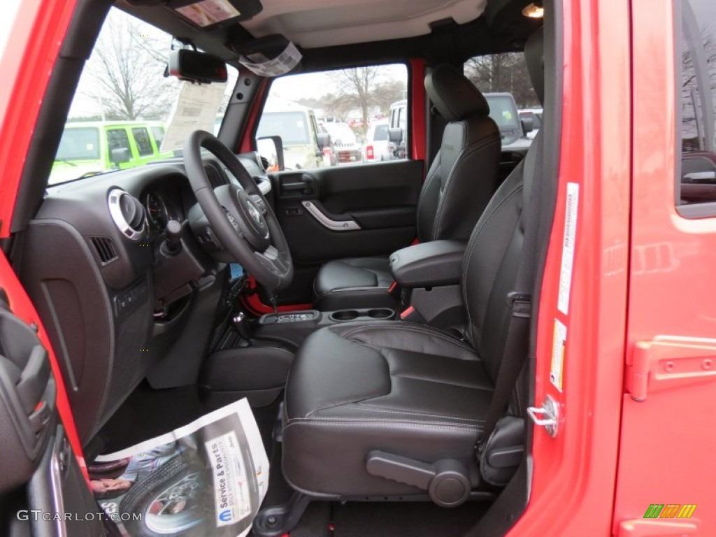 2013 Jeep Wrangler Unlimited Rubicon 4x4 Interior Photo