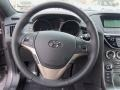 Red Leather/Red Cloth Steering Wheel Photo for 2013 Hyundai Genesis Coupe #75734660
