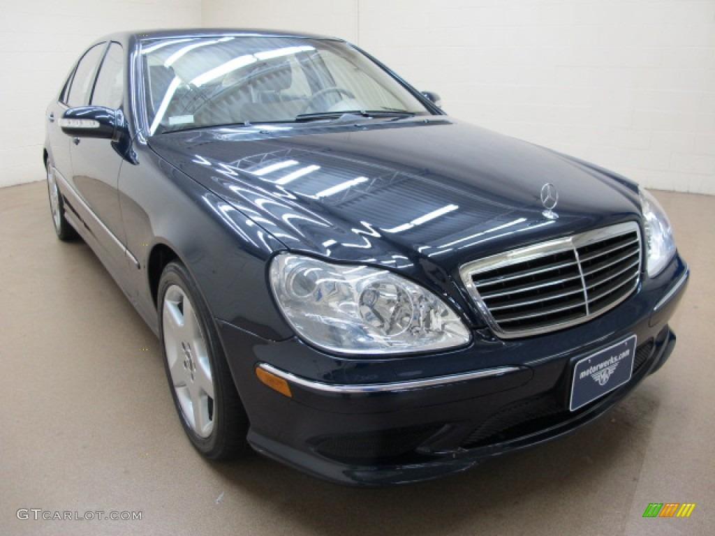 2003 midnight blue mercedes benz s 430 sedan 75726232 for Mercedes benz s 430