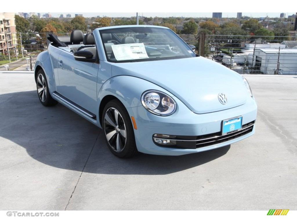 2013 Denim Blue Volkswagen Beetle Turbo Convertible 60s ...