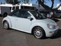 2004 Aquarius Blue Volkswagen New Beetle GLS Convertible #75726332