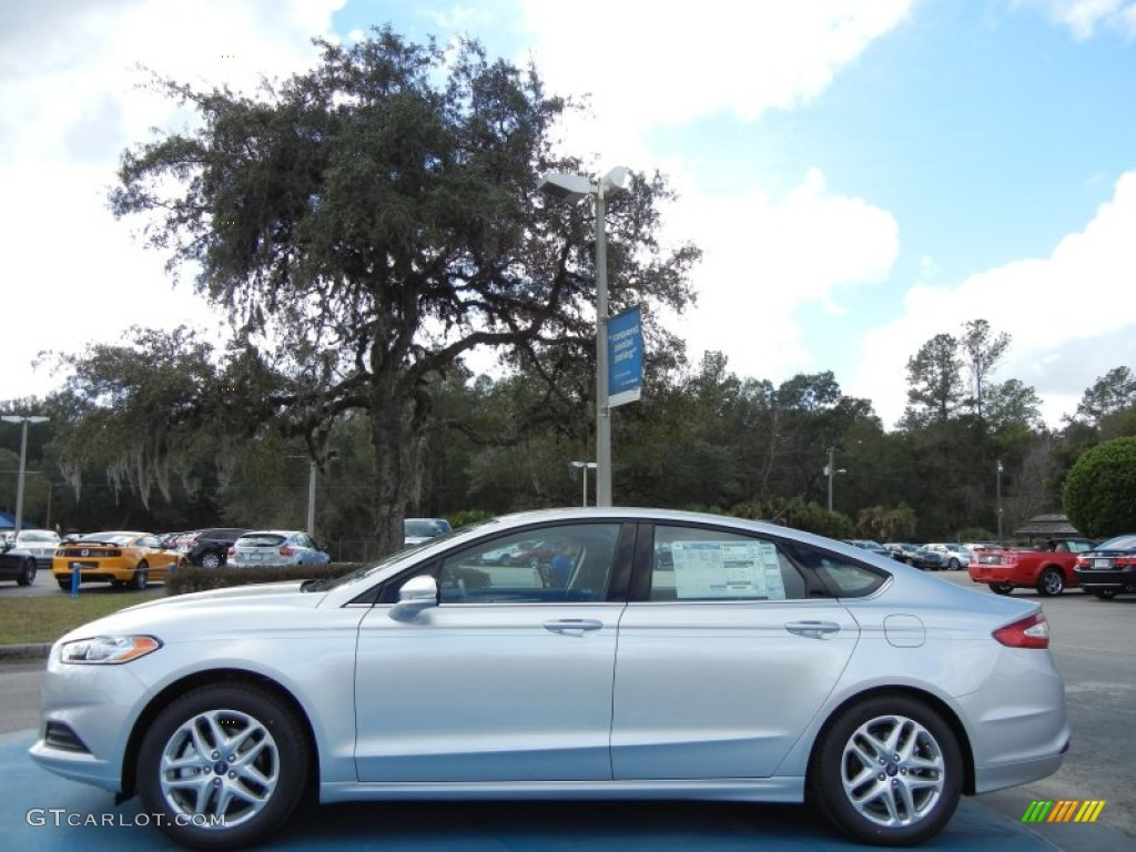 Ingot Silver Metallic 2013 Ford Fusion Se Exterior Photo 75752878