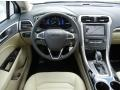2013 Oxford White Ford Fusion Hybrid SE  photo #9