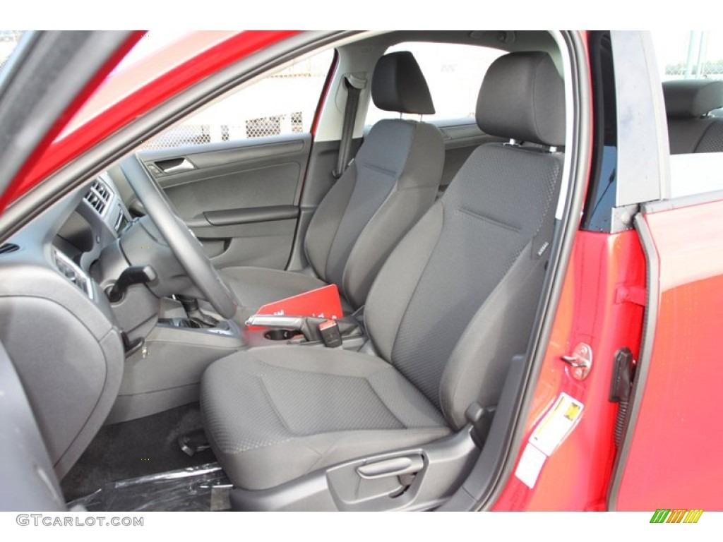 Titan Black Interior 2013 Volkswagen Jetta S Sedan Photo 75755613