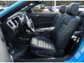 2013 Ford Mustang Charcoal Black Interior Interior Photo