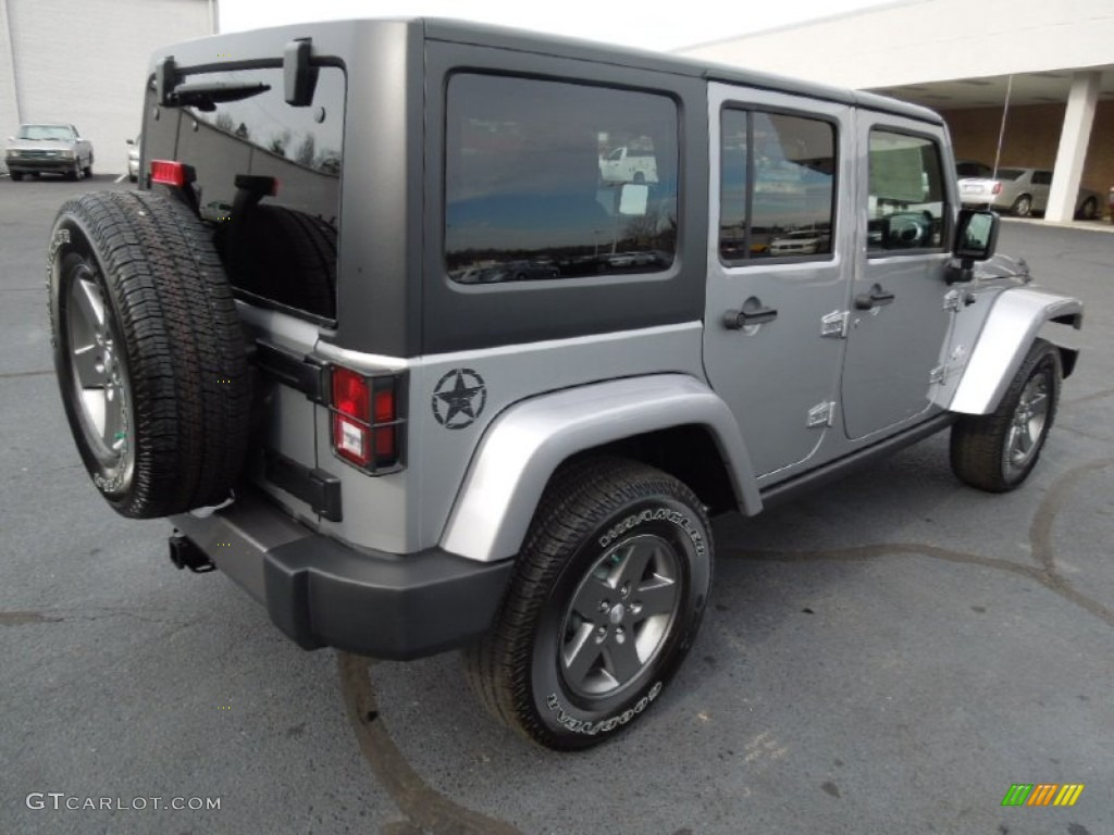 2013 Billet Silver Metallic Jeep Wrangler Unlimited Oscar ...