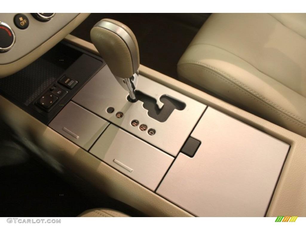 2007 Murano SE AWD - Merlot Pearl / Cafe Latte photo #12