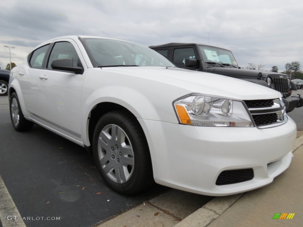 new bright white 2013 dodge avenger se exterior photo. Black Bedroom Furniture Sets. Home Design Ideas