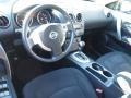 Black 2009 Nissan Rogue Interiors