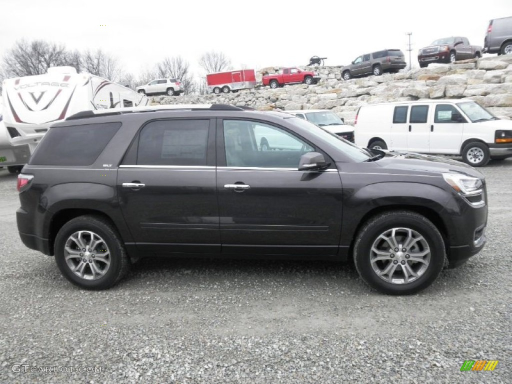 2013 Acadia SLT AWD - Iridium Metallic / Dark Cashmere photo #1