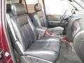 2007 GMC Envoy Ebony Interior Front Seat Photo