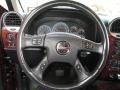 2007 GMC Envoy Ebony Interior Steering Wheel Photo