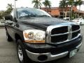 2006 Brilliant Black Crystal Pearl Dodge Ram 1500 SLT Regular Cab 4x4  photo #2