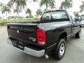 2006 Brilliant Black Crystal Pearl Dodge Ram 1500 SLT Regular Cab 4x4  photo #6