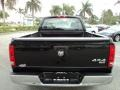 2006 Brilliant Black Crystal Pearl Dodge Ram 1500 SLT Regular Cab 4x4  photo #7