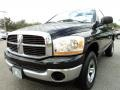 2006 Brilliant Black Crystal Pearl Dodge Ram 1500 SLT Regular Cab 4x4  photo #14