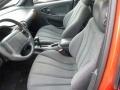Graphite 2002 Chevrolet Cavalier Interiors