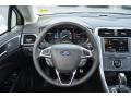 Charcoal Black Steering Wheel Photo for 2013 Ford Fusion #75821744